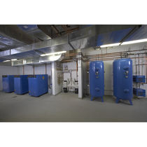 Medical compressed air production unit