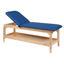 Manual massage table / 2-section