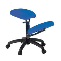 Chair on casters / ergonomic / kneeling
