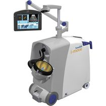 Extracorporeal lithotripter / trolley-mounted / with C-arm / with lithotripsy table