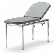 Fixed-height examination table / with adjustable backrest / ergonomic