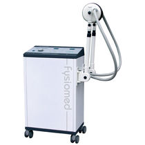 Shortwave diathermy unit / trolley-mounted