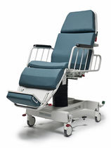 Hydro-pneumatic stretcher chair / height-adjustable / 3 sections