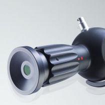 Rhino-laryngoscope fiberscope