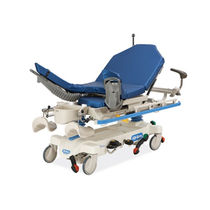 Transport stretcher trolley / emergency / manual / height-adjustable