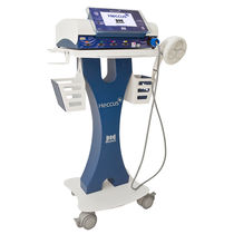Pain relief ultrasound generator / trolley-mounted