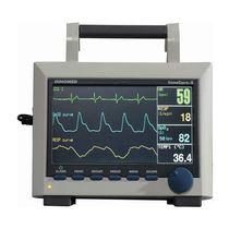 ECG multi-parameter monitor / compact / transport / with touchscreen