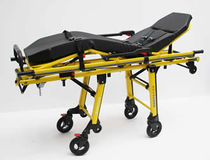 Transport stretcher trolley / for ambulances / manual / height-adjustable