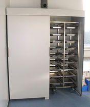 Sample storage cabinet / for laboratory samples / laboratory / with containers