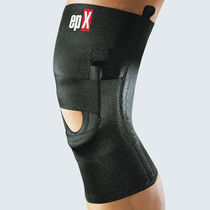 Infra-patellar knee strap / knee sleeve / patella stabilization / with flexible stays