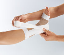 Flexible orthopedic tape / for orthoses