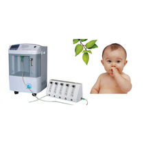 Oxygen concentrator on casters / pediatric
