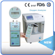 Oxygen analyzer / for oxygen concentrators