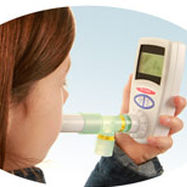 Hydrogen breath analyzer