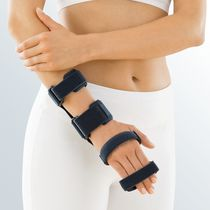 Metacarpal splint / median nerve anti-compression