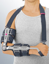 Elbow splint / articulated / with handle