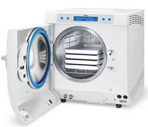 Medical autoclave / bench-top / compact / front-loading
