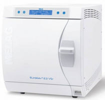 Medical autoclave / bench-top / front-loading / programmable