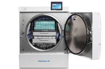 Medical autoclave / front-loading / compact / vertical