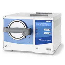Medical autoclave / front-loading / compact / bench-top