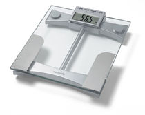 Bio-impedancemetry body composition analyzer / for fat measurement / with digital display