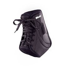 Ankle orthosis / open heel / lace-up