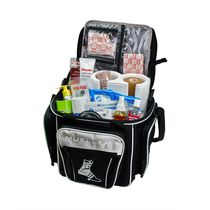 First aid bag / for sports therapy / shoulder strap / multi-pocket