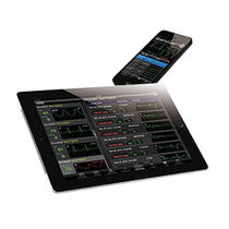 Visualization software / treatment / vital sign telemonitoring / for intensive care
