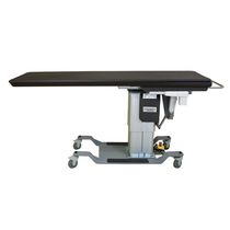 Tilting angiography table / height-adjustable / mobile