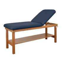 Fixed-height examination table / 2 sections / bariatric