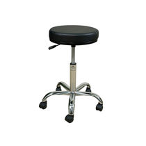 Doctor's office stool / height-adjustable / pneumatic / on casters