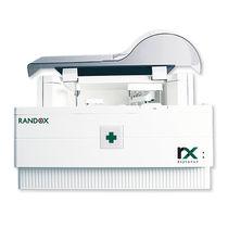 Automated biochemistry analyzer / veterinary / compact / random access