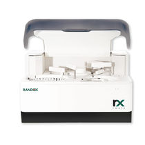 Automated biochemistry analyzer / veterinary / bench-top / compact