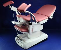 Gynecological examination chair / urological / electrical / height-adjustable