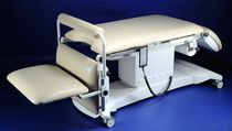 Proctologic examination chair / electro-pneumatic / height-adjustable