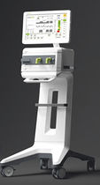 Resuscitation ventilator / non-invasive / on casters / with touch screen