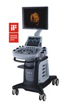 On-platform, compact ultrasound system / for multipurpose ultrasound imaging / 3D/4D / color doppler
