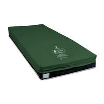 Hospital bed mattress / foam / alternating pressure / anti-decubitus