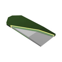 Transfer mattress / for stretchers / foam / bariatric