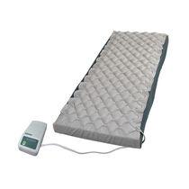 Hospital bed mattress overlay / alternating pressure / with air pump / anti-decubitus
