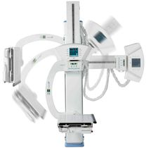 Radiography system / digital / for multipurpose radiography / without table