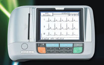 Resting electrocardiograph / digital / 3-channel / with printer