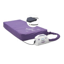 Hospital bed mattress / dynamic air / with air pump / anti-decubitus