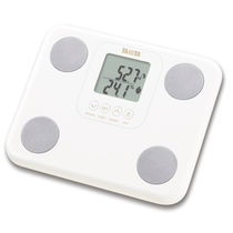 Bio-impedancemetry body composition analyzers / for fat measurement / with LCD display / compact
