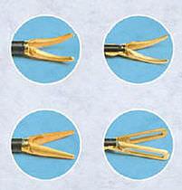 Laparoscopic forceps / dissection / monopolar / disposable