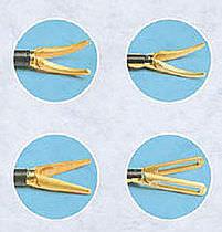 Laparoscopic scissors / straight / monopolar