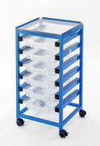 Multi-function trolley / linen / with drawer / non-magnetic