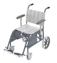 Folding patient transfer chair