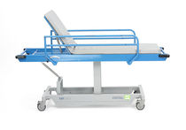Transport stretcher trolley / manual / non-magnetic / 2 sections