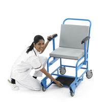 Non-magnetic patient transfer chair